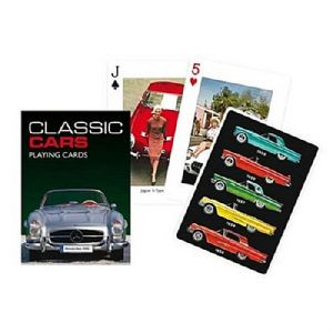 Classic Cars set of playing cards    (gib)
